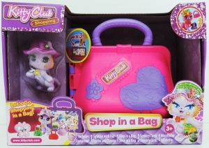 KITTY CLUB SHOPPING MASCOTA Y SU CARTERA COD D162004