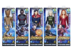 AVENGERS MARVEL FIGURA TITAN HERO SERIES MOVIE B COD E2170