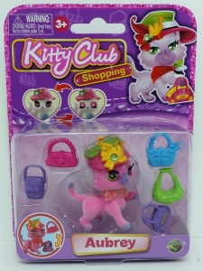 KITTY CLUB MASCOTA BLISTER X 1 COD M340009