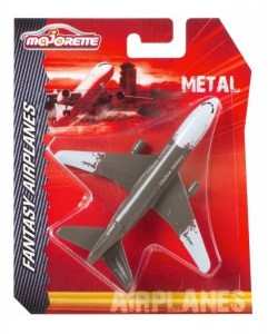 MAJORETTE AVION DE METAL FANTASY AIRPLANES 12CM COD MJT53120