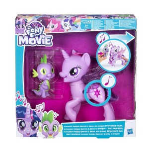 MY LITTLE PONY PRINCESS TWILIGHT SPARKLE AND SPIKE COD C0718