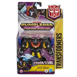 TRANSFORMERS CYBERVERSE ADVENTURES HOT ROD COD E7086