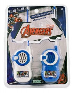 WALKIE TALKIE AVENGERS DITOYS ORIGINAL COD 2221