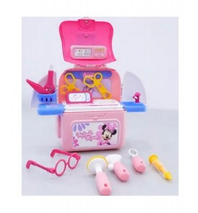 PLAYSET VALIJA DOCTORA MINNIE BACKPACK 2 EN 1 COD 2382