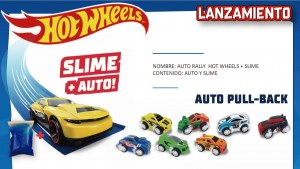 AUTO RALLY HOT WHEELS CON SLIME ORIGINAL COD 5991